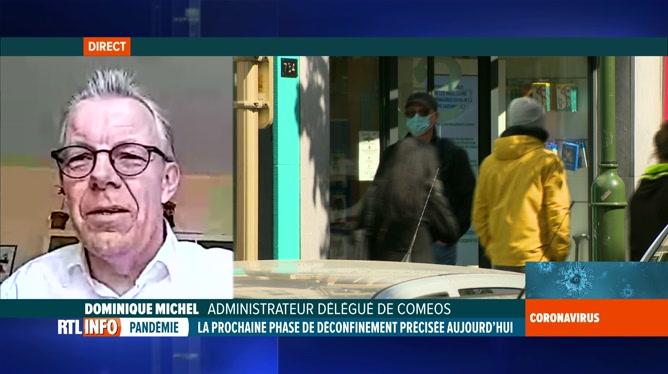 Coronavirus en Belgique: Dominique Michel évoque la réouverture des commerces