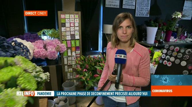 Coronavirus en Belgique: les fleuristes pourront rouvrir le lendemain de la fête des mères