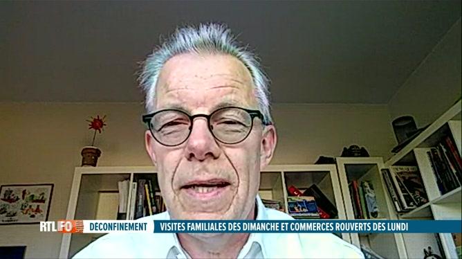 Déconfinement: Dominique Michel évoque la réouverture des commerces