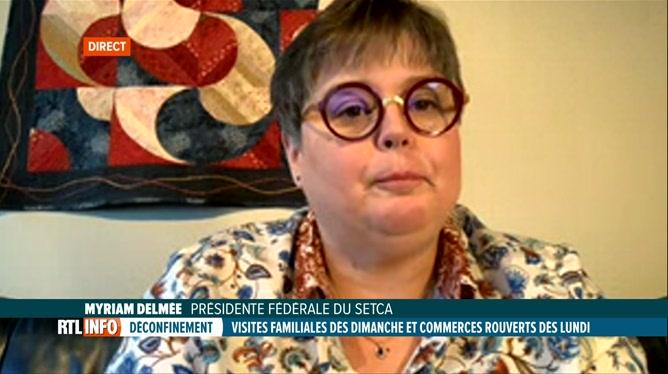 Coronavirus en Belgique: Myriam Delmée évoque les effets de la crise sur l'emploi