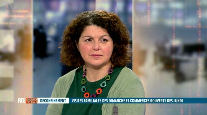 Déconfinement: Marie-Hélène Ska évoque la situation dans les entreprises