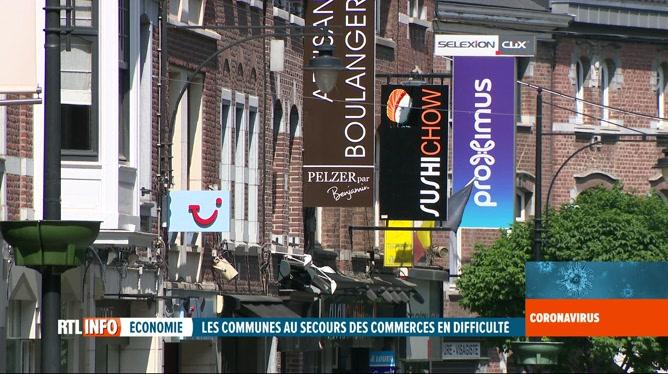 Coronavirus en Belgique: des communes viennent en aide aux commerces locaux