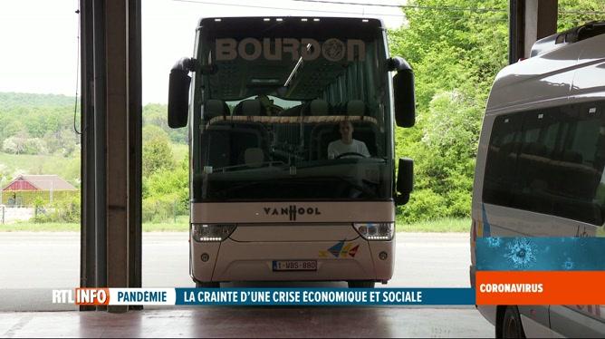 Coronavirus en Belgique: le secteur des autocaristes craint des faillite en cascade