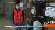 Déconfinement en Belgique: la police veille au respect des règles dans les commerces