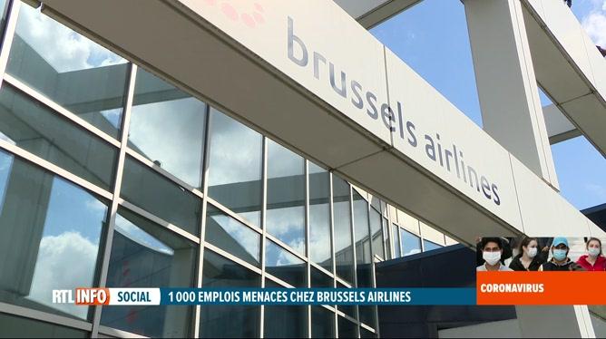 Coronavirus: Brussels Airlines envisage de supprimer 25% de ses effectifs