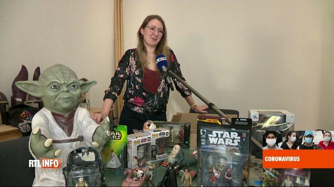 Coronavirus en Belgique: une infirmière fan de Star Wars remerciée par Luke Skywalker !