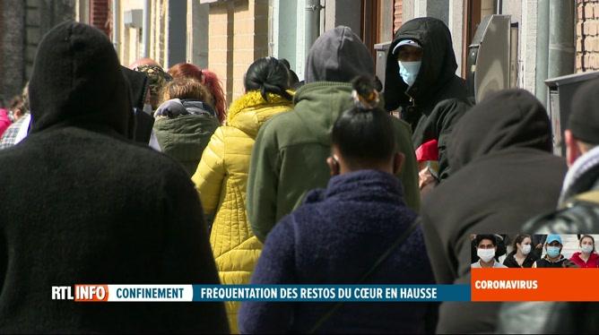 Coronavirus en Belgique: la crise engendre une forte hausse de la précarité