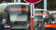 Coronavirus en Belgique: le réseau de la STIB est toujours perturbé