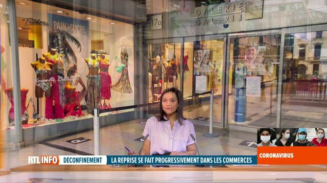 Coronavirus en Belgique: premier week-end de réouverture des commerces