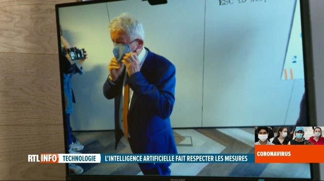 Coronavirus en Belgique: Infrabel recourt à l'intelligence artificielle