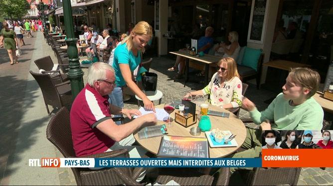 Coronavirus: les Belges ont profité des terrasses aux Pays-Bas