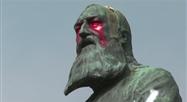 Une statue de Léopold II vandalisée à Bruxelles