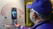 Un détecteur de fièvre et de masque à Molenbeek