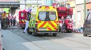 Anderlecht: quatre personnes intoxiquées après un incendie dans le quartier de Cureghem