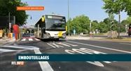 Anderlecht: circulation réduite à une seule bande et embouteillages