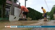 Inondations de plusieurs maisons à Yvoir suite aux orages