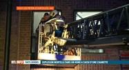 Explosion et incendie hier soir dans un home de Gouy-lez-Piéton