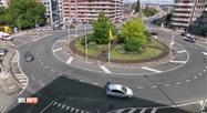Un rond-point de Namur théâtre régulier de rodéos en voiture