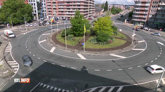 Un rond-point de Namur est devenu le terrain de jeu des amateurs de rodéos urbains
