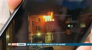 Un homme perd la vie dans l'incendie de son appartement à Tournai