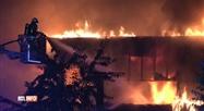 Trois blessés dans l'incendie d'une entreprise de construction à Suarlez
