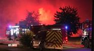 Trois blessés dans l'incendie d'une entreprise de construction à Suarlée