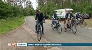 Tourisme: Elio Di Rupo et Valérie De Bue visitent Rochefort à vélo