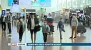 Départs en vacances: le calme règne à Brussels Airport