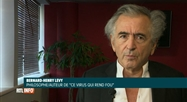 Le philosophe Bernard-Henri Lévy sort indigné du confinement