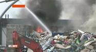 Incendie au BEP Environnement à Floreffe: des déchets ont pris feu