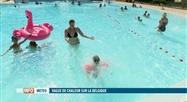 Vague de chaleur: quête de fraîcheur dans les piscines extérieures