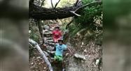 Claude (Koh Lanta) initie son fils au trail: