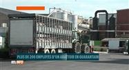 Plus de 200 employés d'un abattoir en Flandre mis en quarantaine