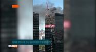 Bruxelles: un incendie touche une tour du World Trade Center