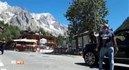 Un glacier du Mont Blanc menace de se détacher