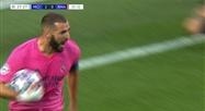 Karim Benzema égalise pour le Real Madrid !