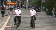 Coronavirus: le port du masque adapté pour les cyclistes à Bruxelles