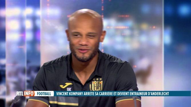 Football: Vincent Kompany évoque son nouveau poste à Anderlecht