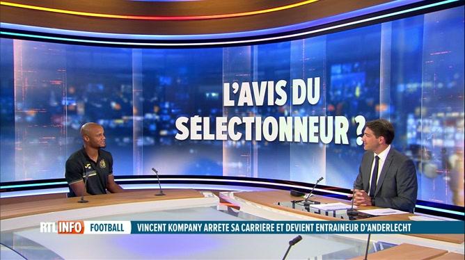 Football: Vincent Kompany ne sera plus Diable rouge