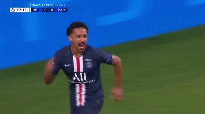 Marquinhos ouvre le score pour le Paris Saint-Germain ! (0-1)