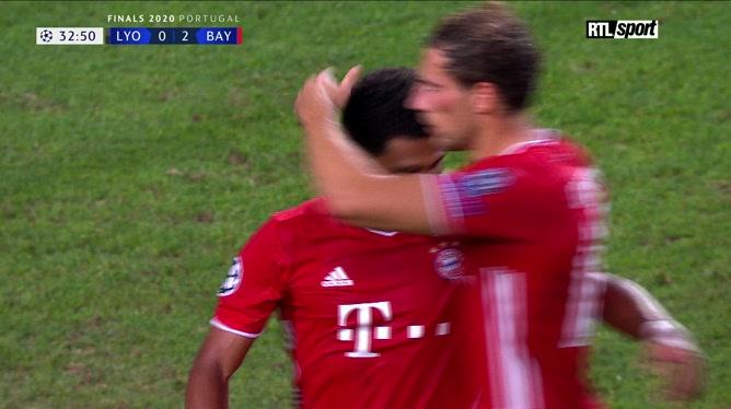Lyon-Bayern Munich: Serge Gnabry inscrit un doublé (0-2)