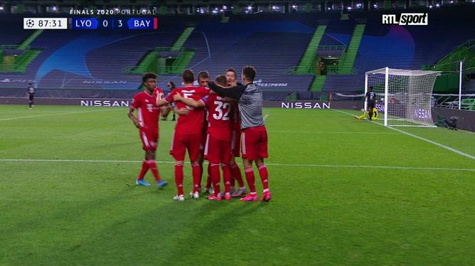 Lyon-Bayern Munich: Lewandowski alourdit le score (0-3)