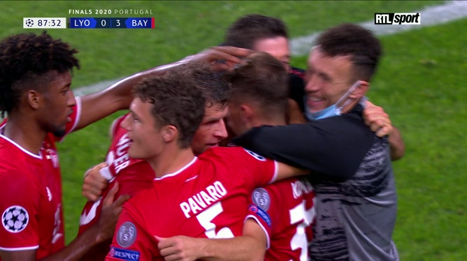 Ligue des champions: Lyon 0 - 3 Bayern Munich