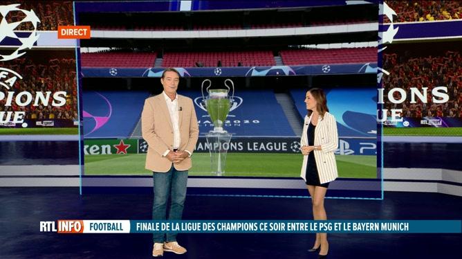 Anne Ruwet et Georges Grun préfacent la finale de Ligue des Champions PSG - Bayern