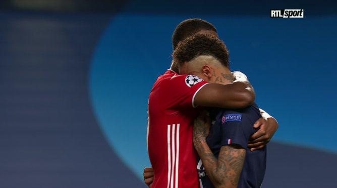 Ligue des champions: les larmes de Neymar