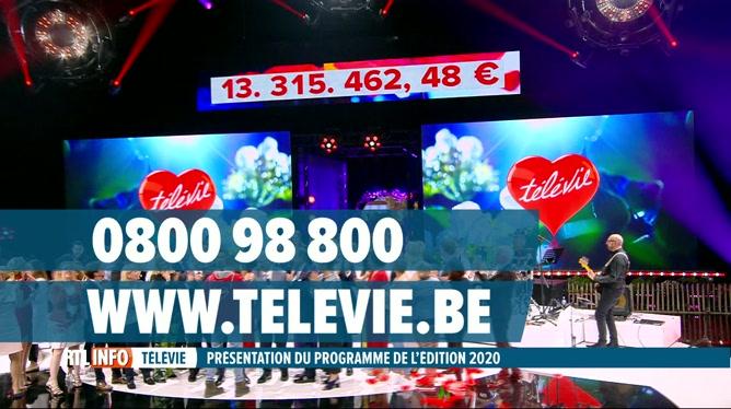 La soirée de clôture de la 32e édition Télévie aura lieu le 19 septembre