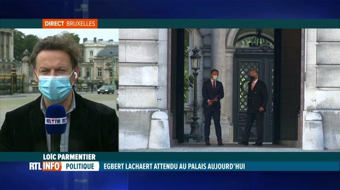 Formation fédérale: Egbert Lachaert se rend chez le roi Philippe