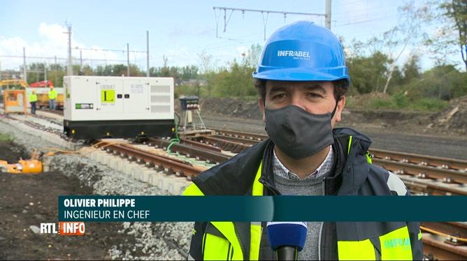 Infrabel débute un énorme chantier ferroviaire à Franière