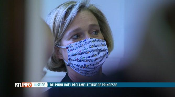 La dernière audience dans l'affaire Delphine Boël a eu lieu cet après-midi