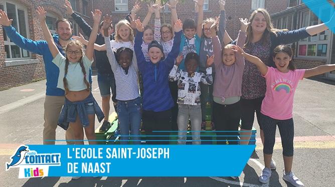 Contact Kids à l'école St Joseph de Naast